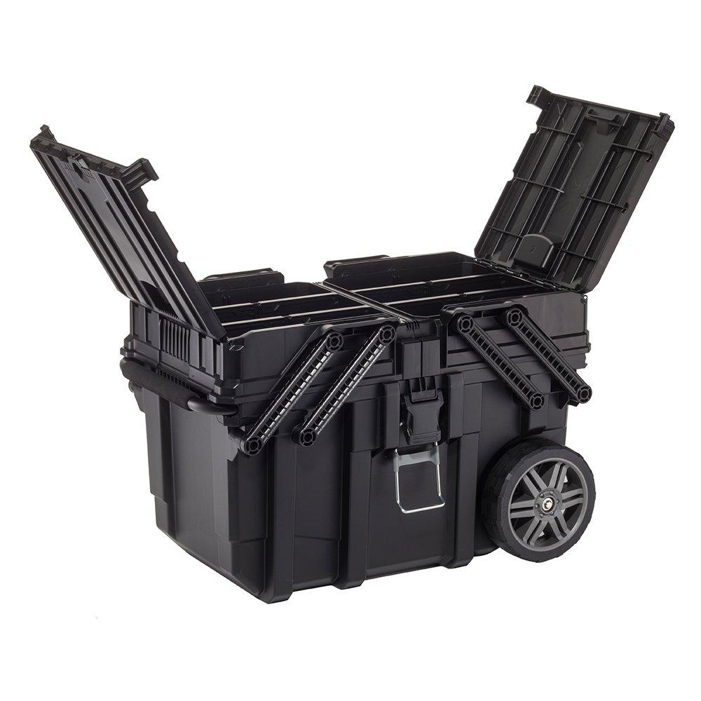 Keter 17203037 Cantilever Box Konsol Kapak Tekerlekli Takım Sandığı fiyatı