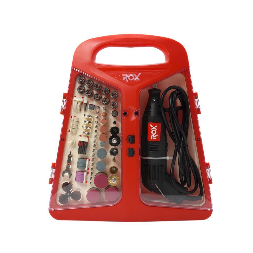 Rox 0074 Mini Taşlama Gravür Makinası Hobi Seti 210 Parça fiyatı