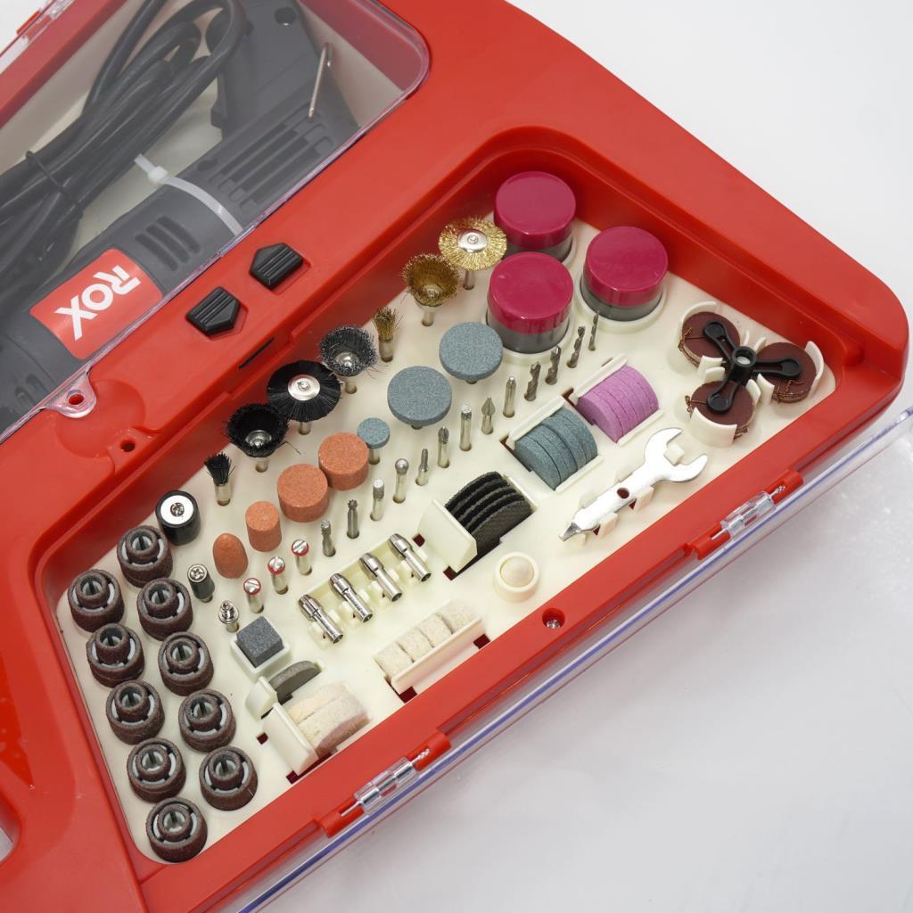 Rox 0074 Mini Taşlama Gravür Makinası Hobi Seti 210 Parça nasıl kullanılır