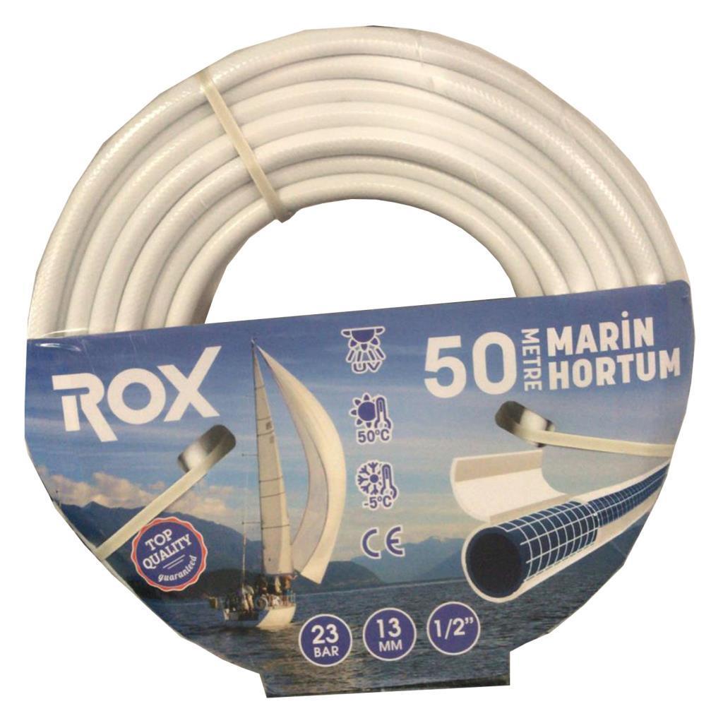 Rox 1/2'' 13 mm Marine Tekne Bahçe Sulama Hortumu 50 metre fiyatı