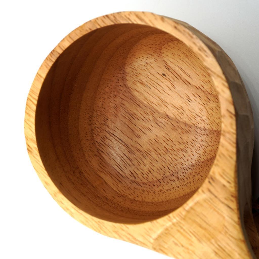 Rox Wood 001 Kuksa Ahşap Bardak Desenli ne işe yarar