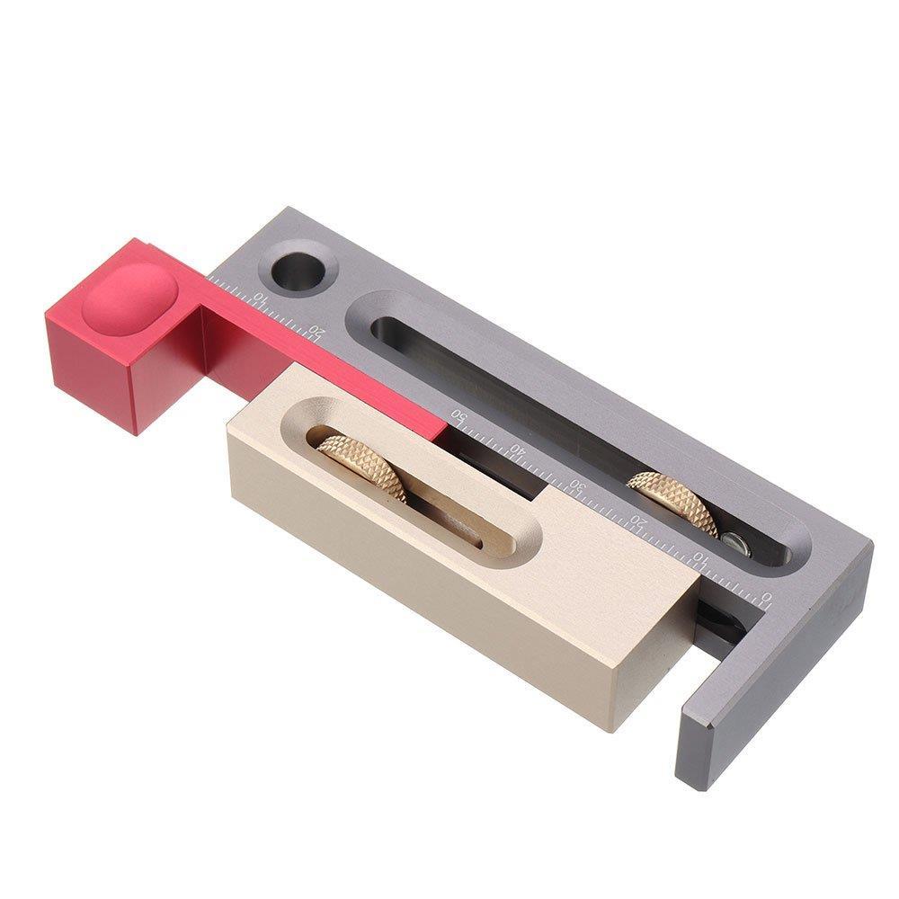 Rox Wood 0040 Alüminyum Hassas Zıvana Boşluk İşaretleme Aparatı nasıl kullanılır