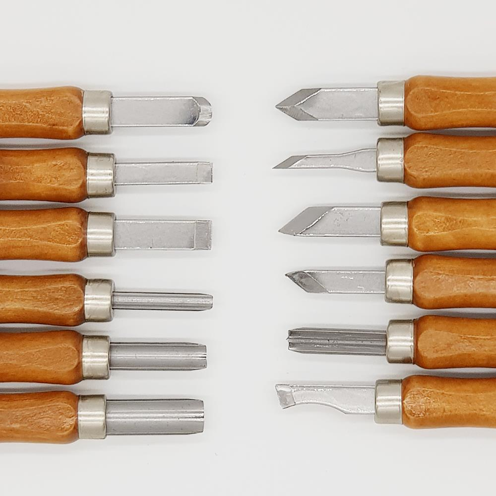 Rox Wood Mini Ahşap Oyma Bıçak Seti 12 Parça ne işe yarar