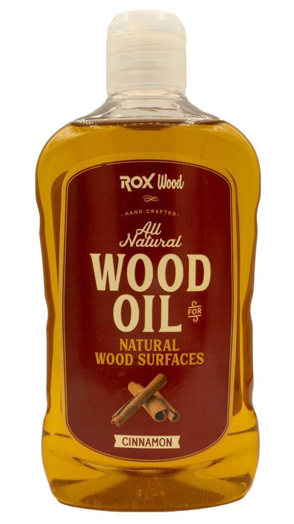 Rox Wood 0121 Tarçınlı Doğal Ahşap Yağı 500 ml fiyatı